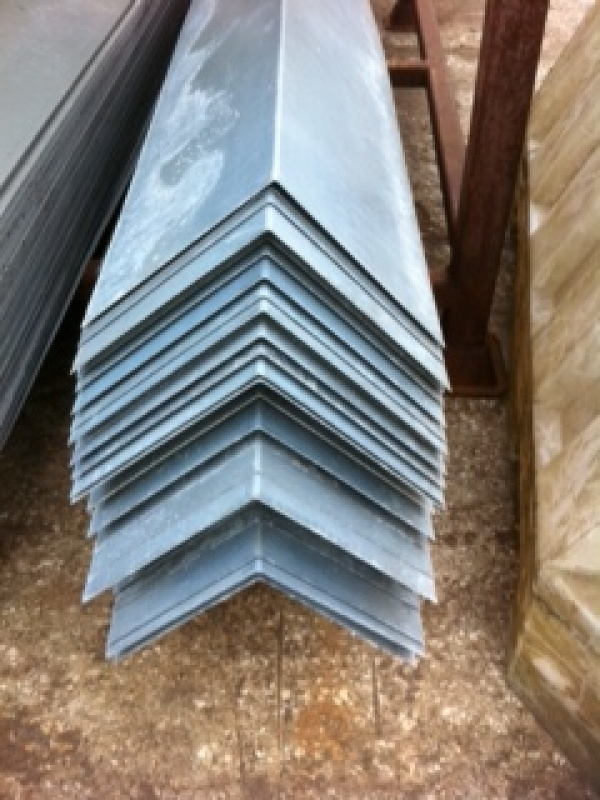 10 ft  Galvanised Barge Board